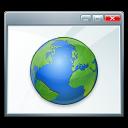Window earth 128x128